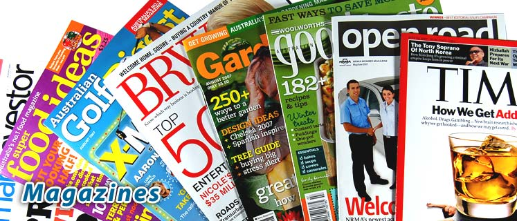Buy Magazines Online - the Magazine Subscription comparison site